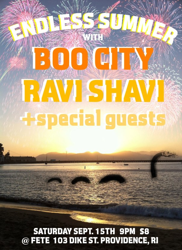ENDLESS SUMMER with Boo City, Ravi Shavi, and Special Guests!