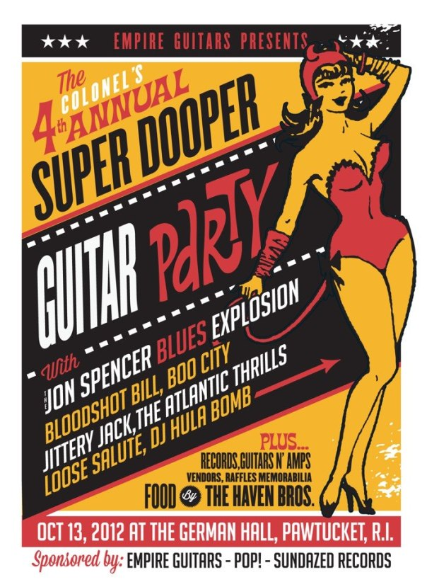 Fourth Annual Super Dooper Guitar Party!!!