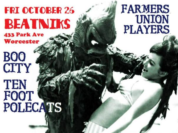 Halloween Bash @ Beatnik's Bar!!