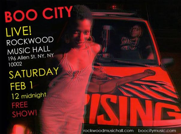 BOO CITY HITS ROCKWOOD MUSIC HALL!!