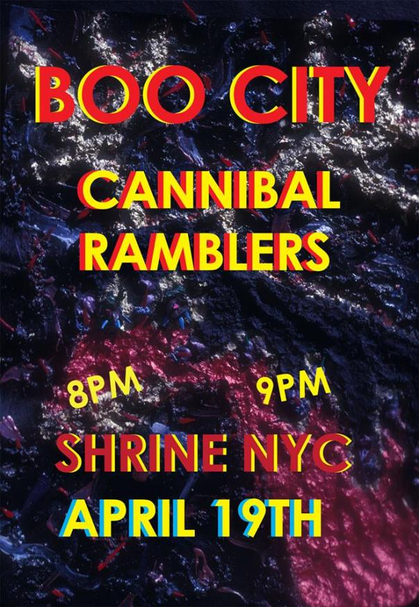 BOO CITY & THE CANNIBAL RAMBLERS @THE SHRINE WORLD MUSIC VENUE!! APRIL 19