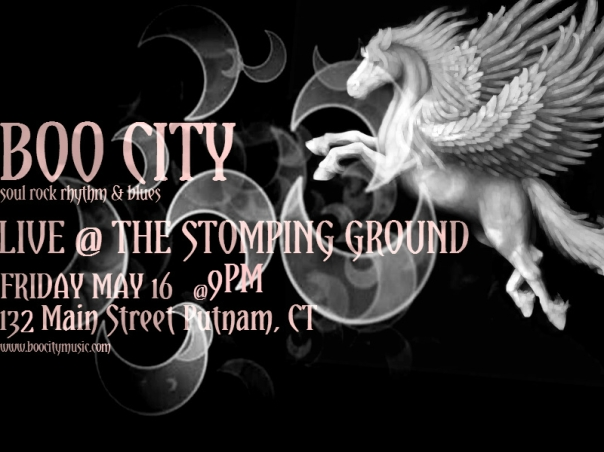 BOO CITY LIVE @THE STOMPING GROUND!!!