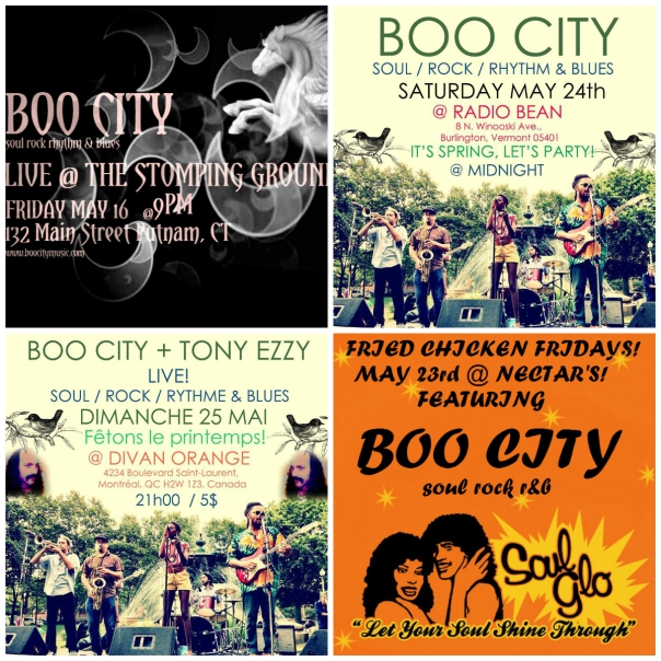 BOO CITY IS HEADED TO NORTH COUNTRY FOR SPRING!!